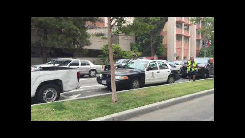 FBI SWAT team arrives at UCLA
