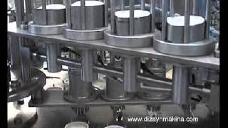 YOĞURT - AYRAN DOLUM MAKİNESİ-YOGURT FILLING MACHINE (www.dizaynmakina.com)
