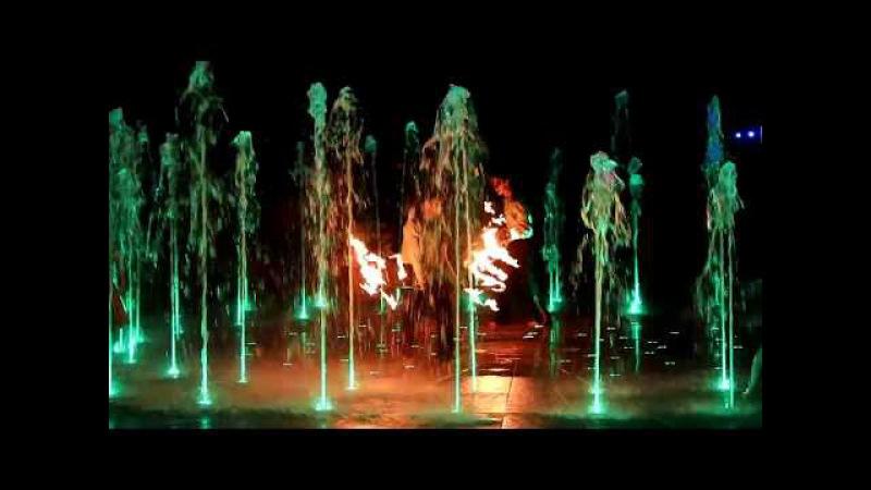 Pokaz ogni grupy Avatar w aranżacji Wiedźmina CAŁOŚĆ