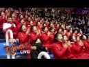 Kimmel Audience Recreates North Korean Olympic Cheer