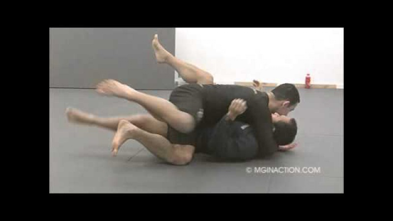 Breaking the Closed Guard and Knee Slide Through Pass with Collar and Arm Control