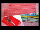 Quiet Book binding tutorial Part TWO: binding stripes, external and internal book binding