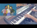 Everybody Hates Ned Flanders But It's A Piano Dub