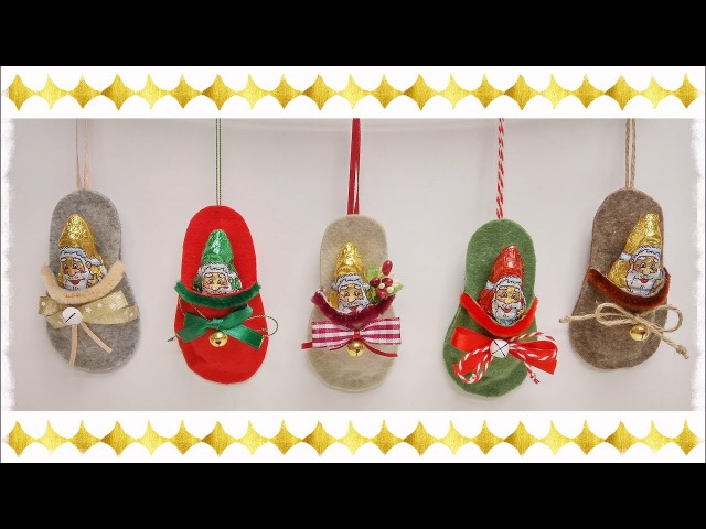 Pantofolì: mini ciabattina porta dolci
