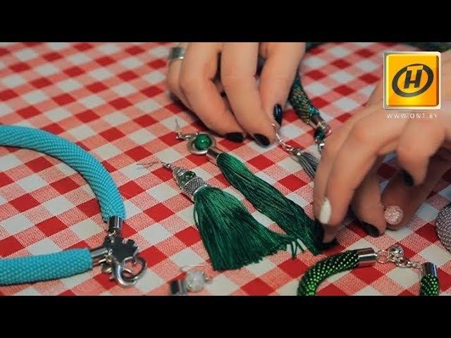 Украшения из бисера hand-made: красивые плетёные жгуты