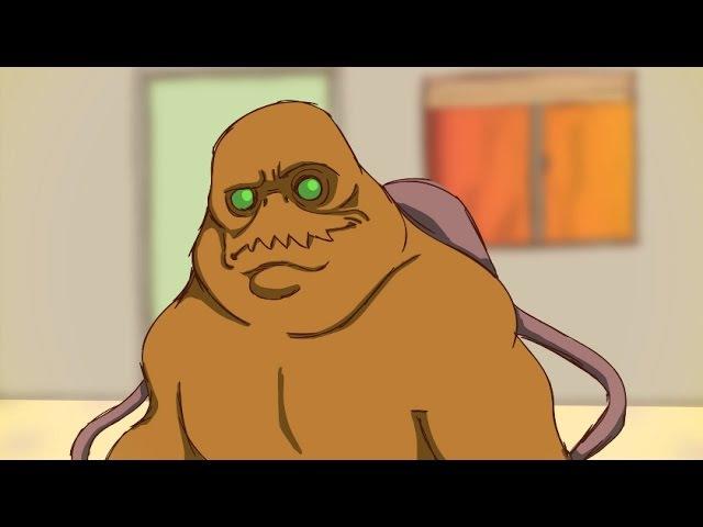 Lunch with Mancubus (Doom Parody) - Bowz