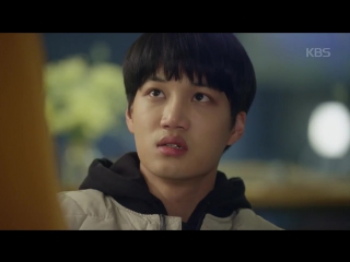 171113 KBS 한국방송 Twitter update with Kai