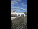 АДЛЕР. Дорога к морю по ул Гоголя. Центральный выход на пляж Золотой Огонек