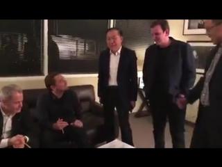 Лео рисует дракона (10.01.2018)