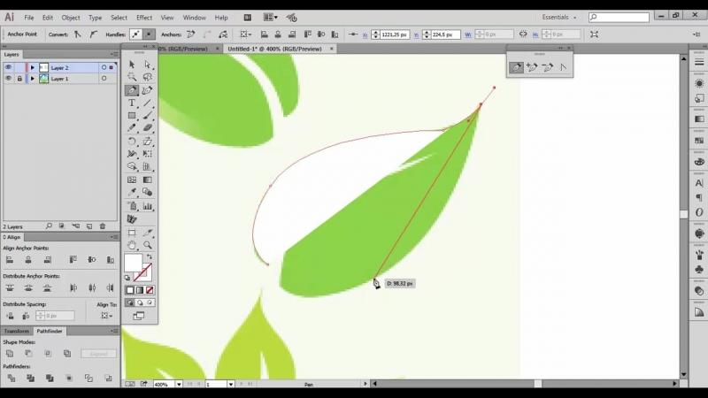 Adobe Illustratr CC - Logo Design Real Estate