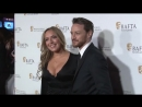 James McAvoy attends the Scottish Bafta's with his sister Joy