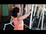 Татьяна и суперсет с акцентом на мышцы  спины