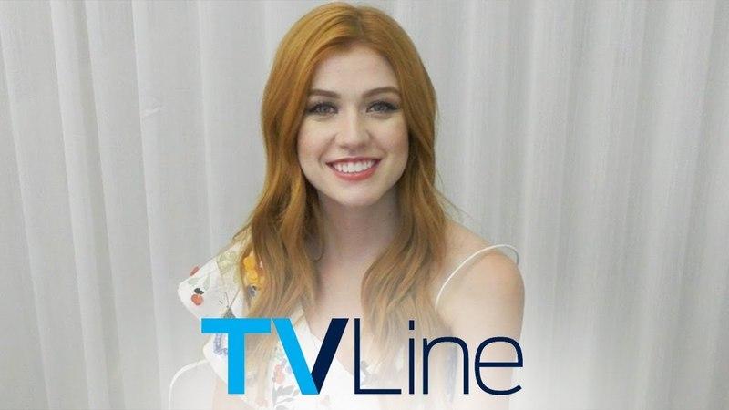 Shadowhunters 3A Finale Katherine McNamara Reacts! | TVLine