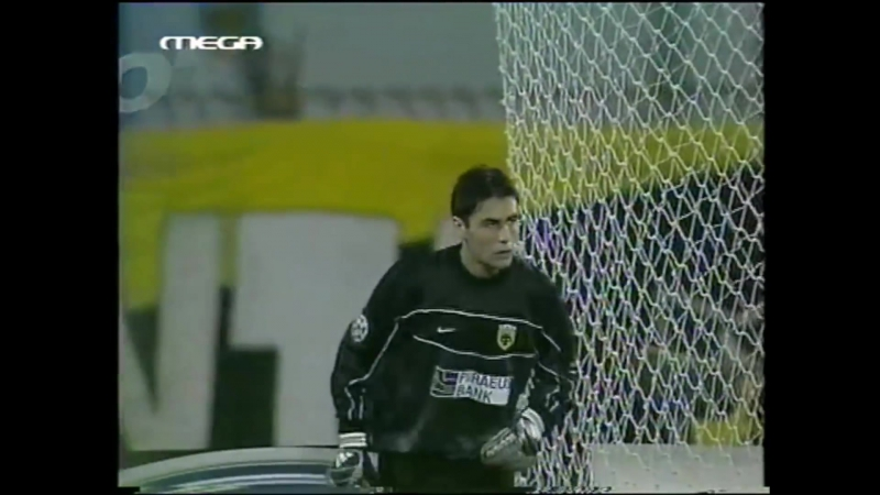 109 CL-2002/2003 AEK Athen - Real Madrid 3:3 (02.10.2002) FULL