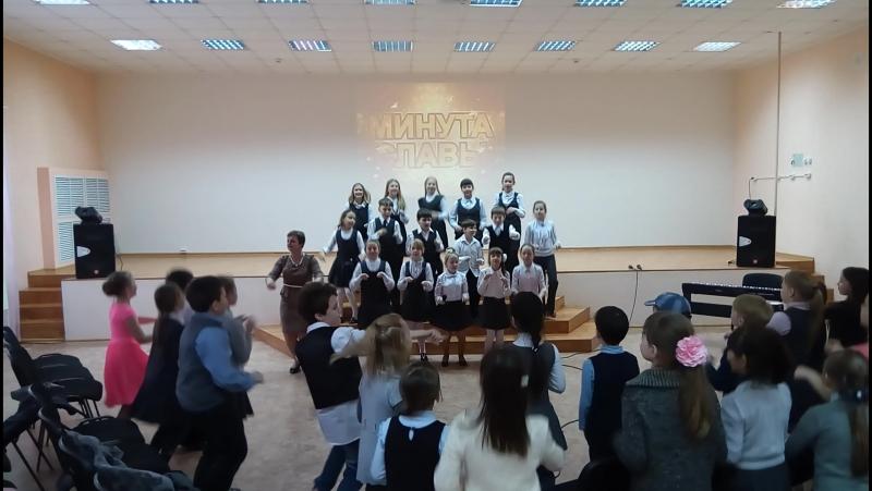 Минута славы в МОУ СОШ7 г.Шуя 2018