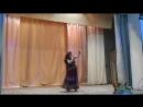 Индийский народно-болливудский танец в моём исполнении на концерте для женщин март 2018