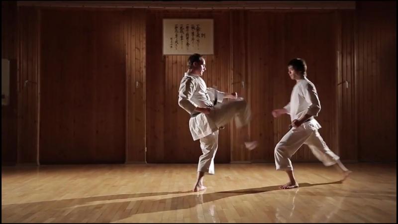 Кумитэ-ката Дзёку ён - Kumite-kata Joku young HD 720