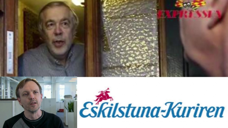 Eskilstuna Kuriren ger sig på pensionären Jim Olsson