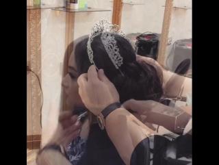 Причёска для королевы