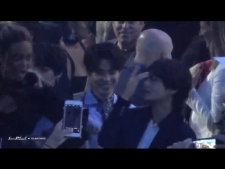 Tyra Banks and BTS was the best thing that happened. - She was telling them to pose and Ta