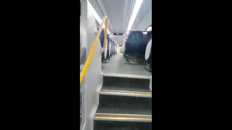 Avstraliyada iki mərtəbəli metro qatarları