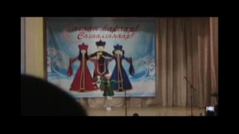 САГААЛГАН-2018 Фрагменты с. Хара- Шибирь сделано ДББ