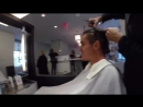 @DamP 92 took @A LoLo12 to get his mullet chopped off so we gave them a @GoPro and had them shoot the cut