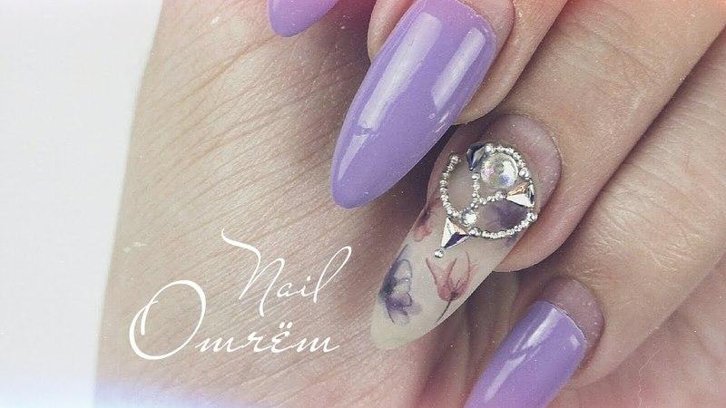 Nail отчёт ★ Uno gel ▸Tnl ▸ Lianail ▸ Neo Nail | Стразы ▸ Crystals nail ★ Ногти отзыв