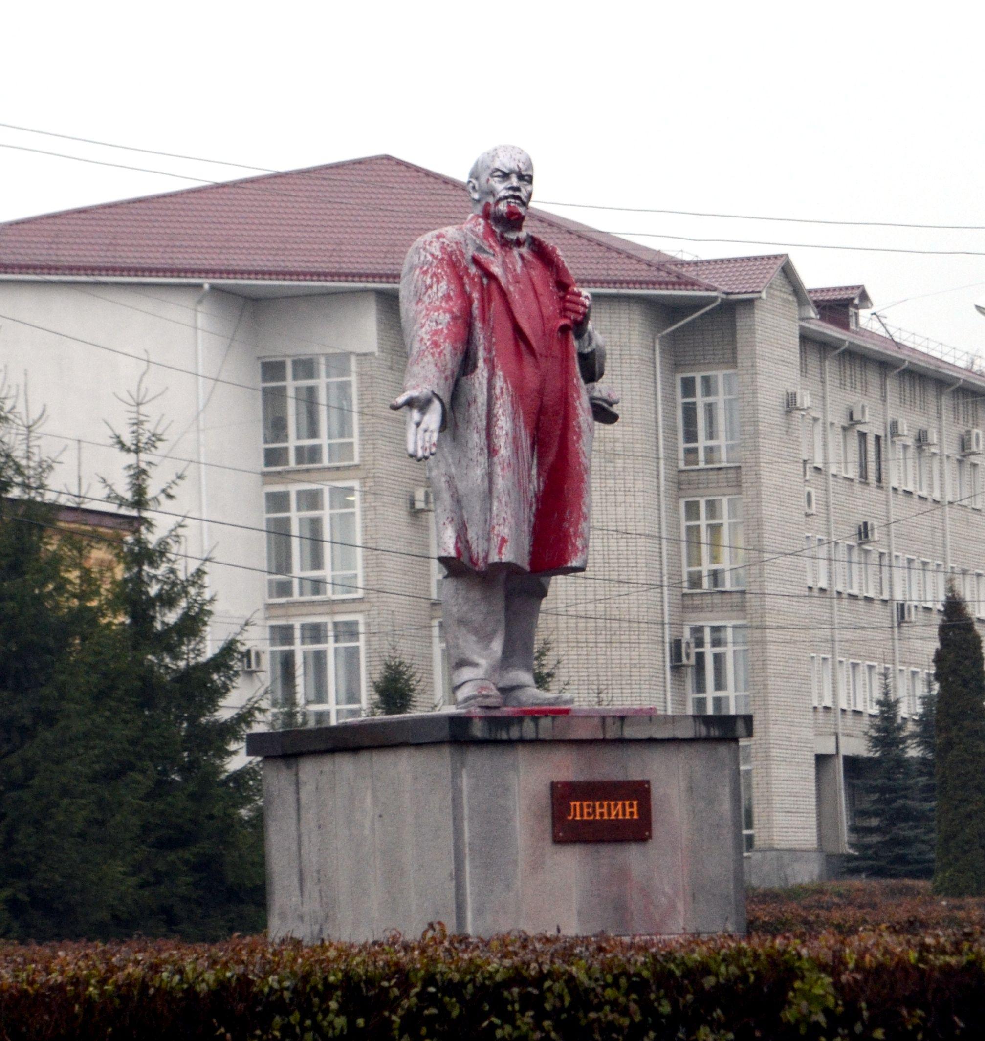 Руки прочь от Ленина!