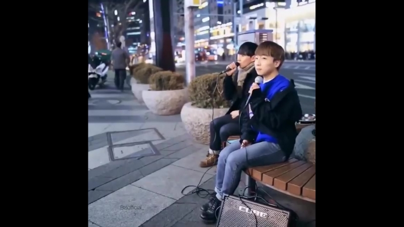 I'm Inlove with their voices _sob__heart_️ - Boys singing spring day 🤟🏻 ( 750 X 750 ).mp4