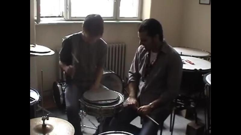 Проф Синиша Йович и Милош Бранисавлевич Белград Сербия Трюки 2