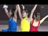 Ex.Gala 02. Min-Jeon KWAK &amp Ice Girls (KOR) LaLa Land (Mix) OST 2018-04-21 LG Ice Fantasia Show