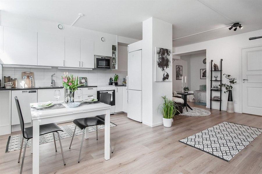 Шведская квартира-студия 36 м.