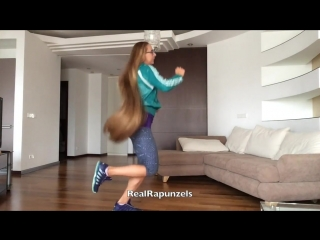 RealRapunzels - Long hair exercise (preview)