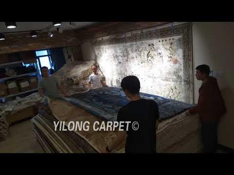Living Room Decorative Handmade Carpet Pure Silk Turkish Rugs