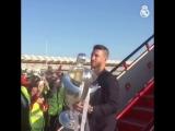 La Decimotercera ya está en Madrid! - @SergioRamos CHAMP13NS