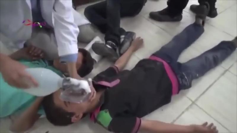 ИГРЫ, СМЕХ, МЯЧИ И КЛОУНЫ Как снимали фальшивую химатаку в Сирии