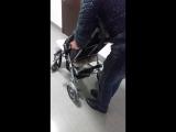 Кресло-коляска SWEETY для детей с заболеванием ДЦП, складная рама, рост пользователя от 120 до 165 см