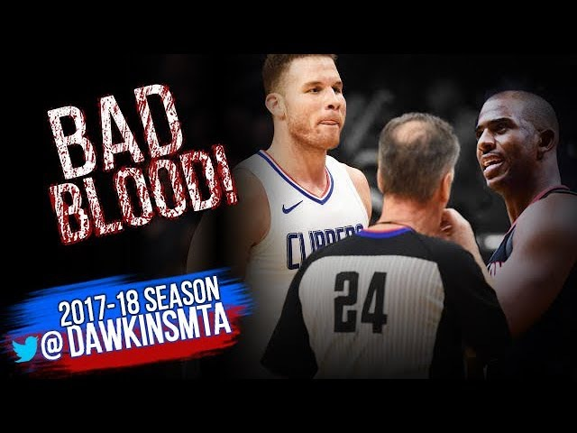 Rockets At Clippers Full BAD BLOOD Play 2018.01.15 - CHAOS in Chris Paul Return!