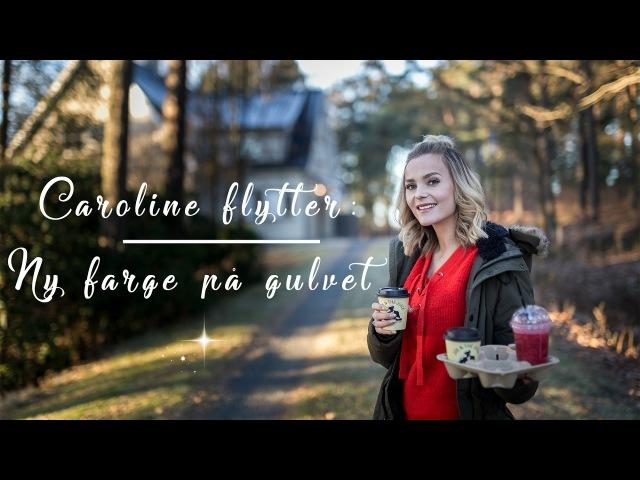 Caroline Flytter: Ny farge på fiskebensparketten