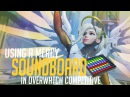 Using a Mercy Soundboard in Overwatch Competitive! (Overwatch Trolling)