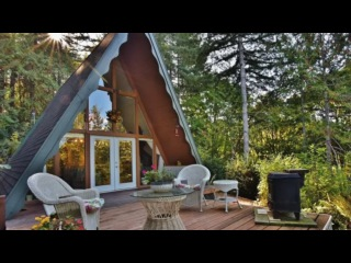 Amazing 700 Sq. Ft. A-frame Cabin in Belfair, WA (For Sale!)