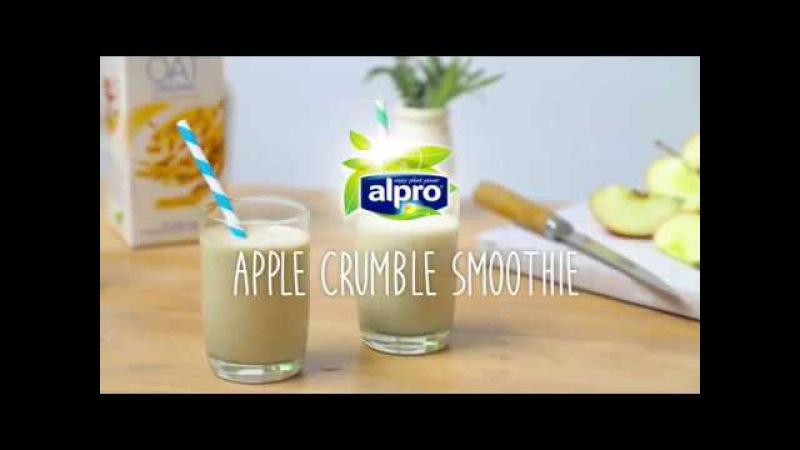 BBC Good Food presents: Apple Crumble Smoothie with Alpro