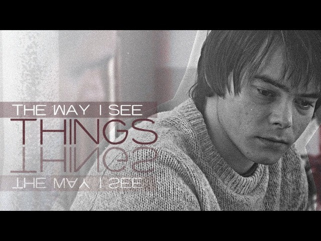 Jonathan byers [the way i see things]