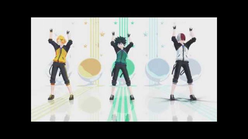 【MMD ヒロアカ】 恋ダンス   Koi Dance   히로아카