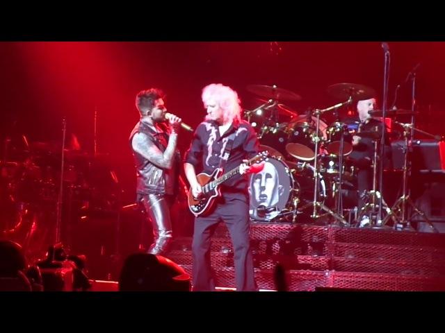 Queen Adam Lambert - I Want It All Part 1 04/11/2017 Budapest