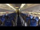 Видео из самолета, севшего в Таразе 20 февраля