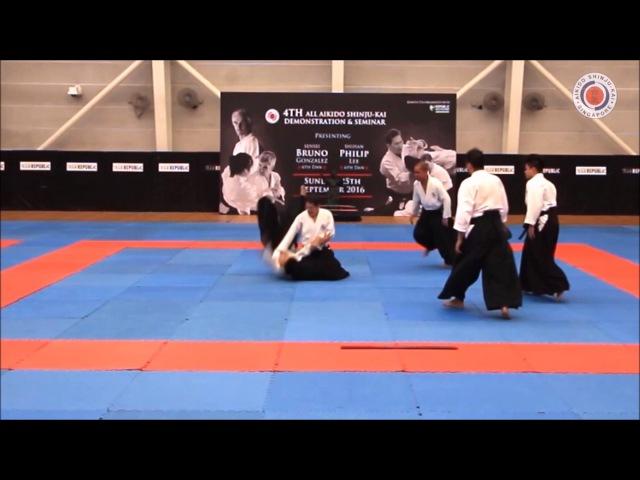 PART 2 Aikido Shinju Kai Instructors 4th Dan Above Instructors