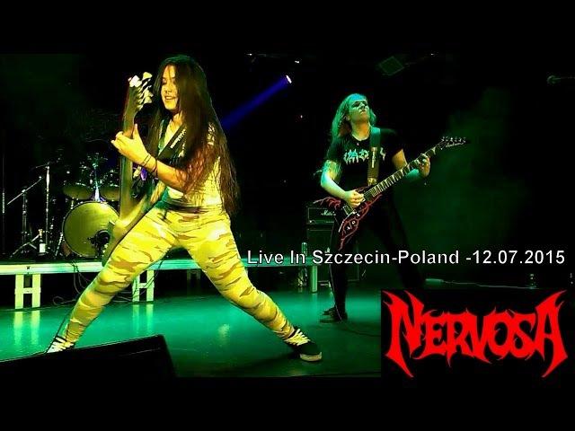 NERVOSA - MASKED BETRAYER-Live In Szczecin-Poland-12.07.2015