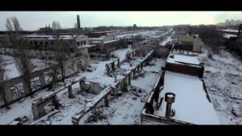 Сталинград 2016... Волгоградский тракторный завод - аэровидеосъёмка